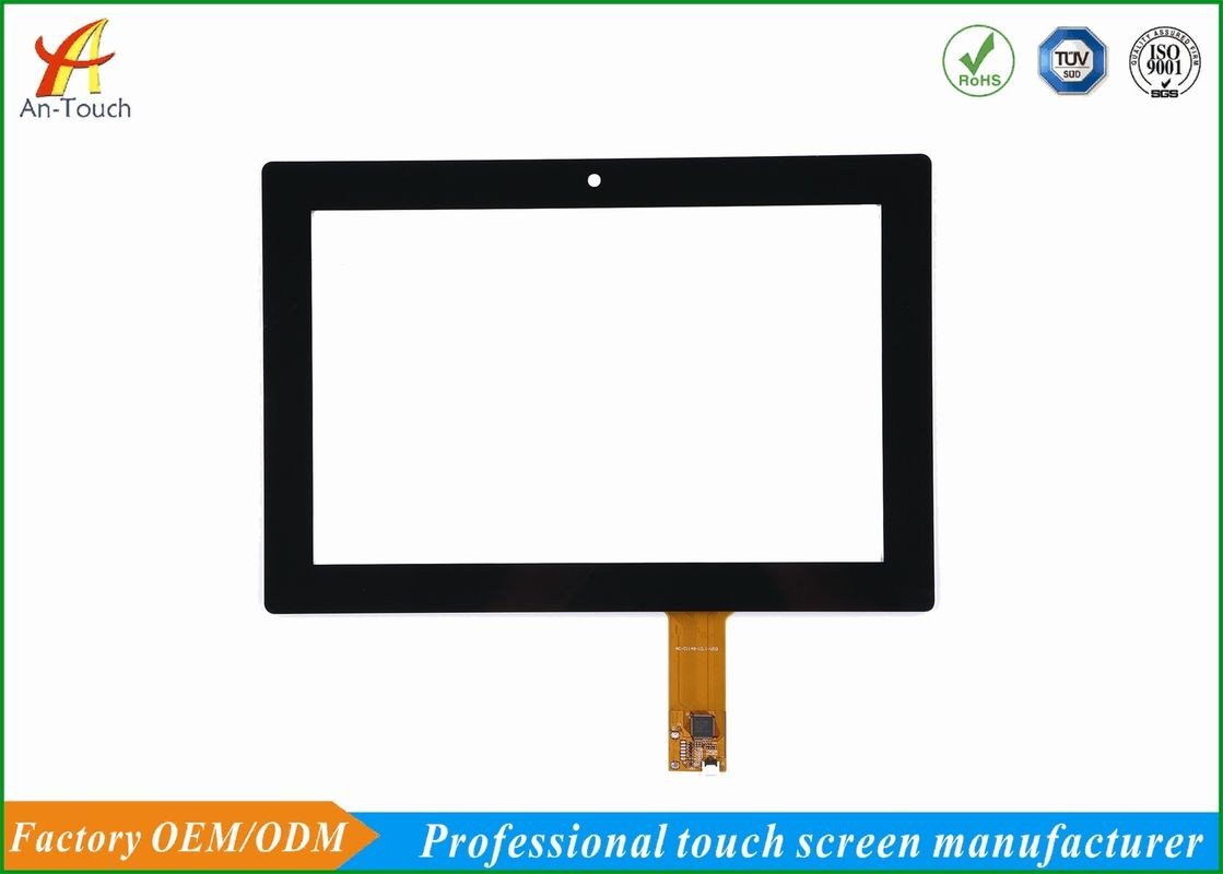 Glove Touch High End Kiosk Touch Panel , 10.1 Inch I2c Touch Display Screen