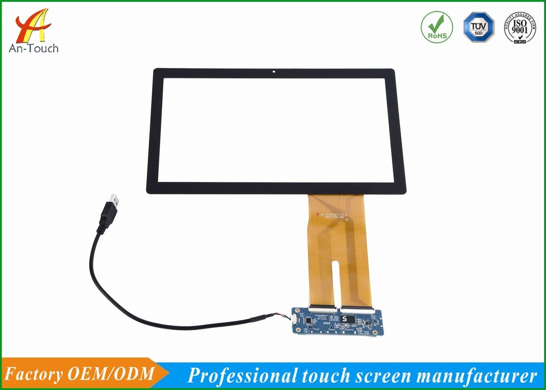 Advertising 11.6 Touchscreen Panel With Usb Port Support , 1-10 Touch Points