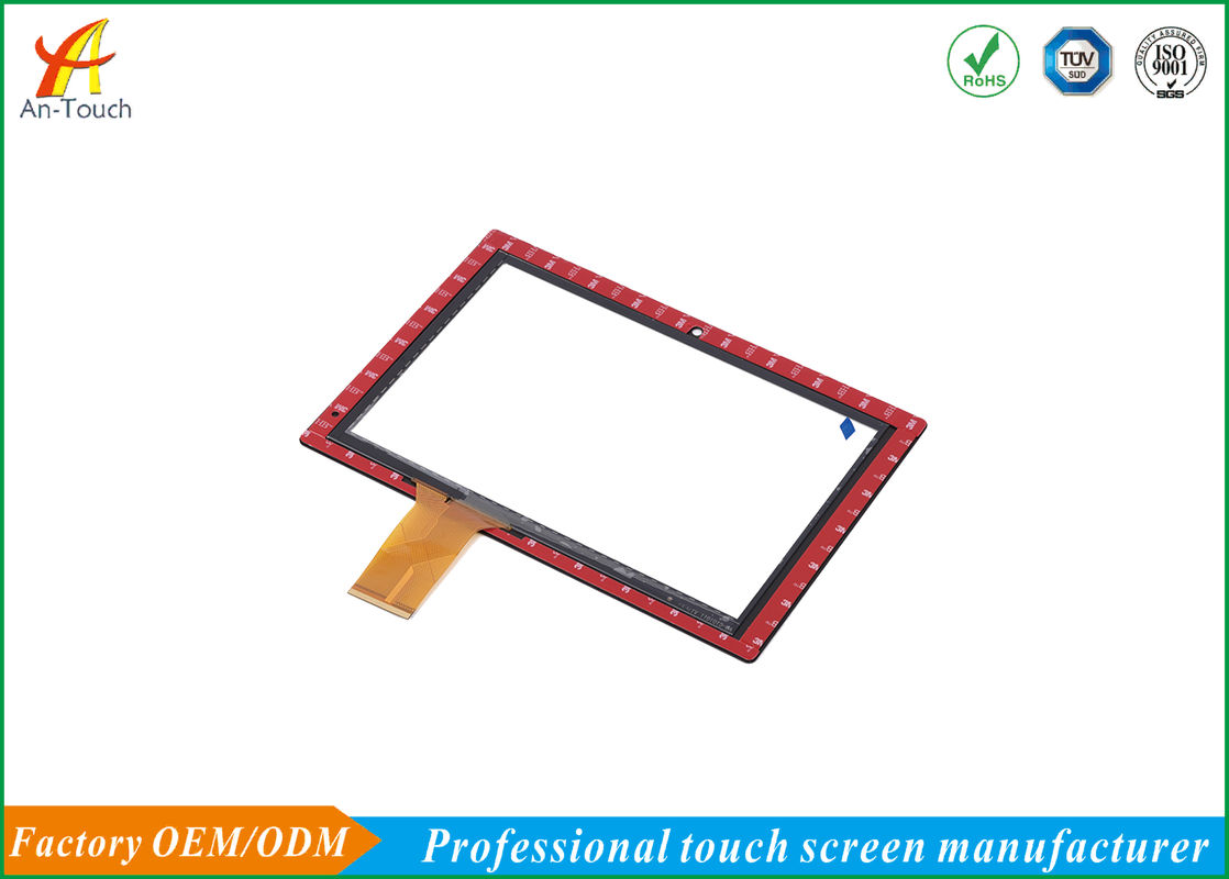 High Resolution Industrial Touch Panel With Glass To Glass Structure
